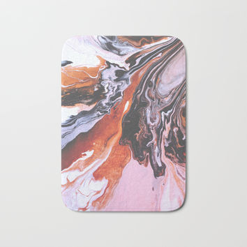 soul mate Bath Mat by duckyb