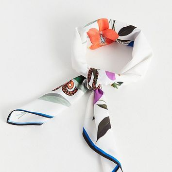Large Silky Square Scarf | Urban Outfitters Canada
