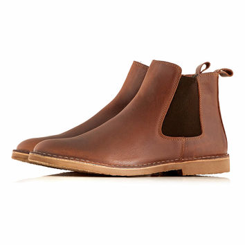 Selected 'Joe' Chelsea boots - New In - TOPMAN USA