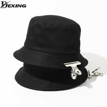 GD KPOP Fashion Unisex Bucket Hat Adult Panama Men Women Street Hip Hop Caps Fishing Hat sad boy caps