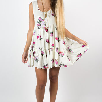 MINKPINK Pink Petals Dress