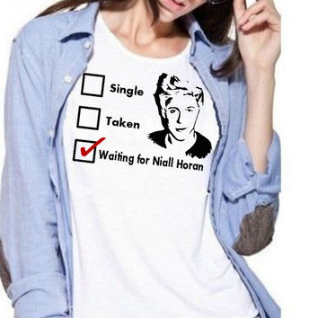 Waiting for Niall Horan shirt - One Direction shirt - Can't sit with us shirt - Graphic T-shirt - Unisex tee