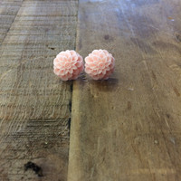Blooming Buds Earrings ~ Pink