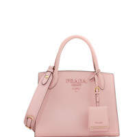 Prada Saffiano Leather Small Tote Bag