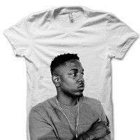 Kendrick Lamar T-shirt - Kendrick Lamar Photo T-Shirt - Vintage T-Shirt - Cool T-Shirt - Celebrity Photo T-Shirt - Hip-Hop T-Shirt - FAN0003