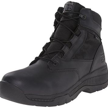 "Timberland PRO Men's 6"" Valor Soft-Toe Waterproof Work Boot  timberland boots for men"
