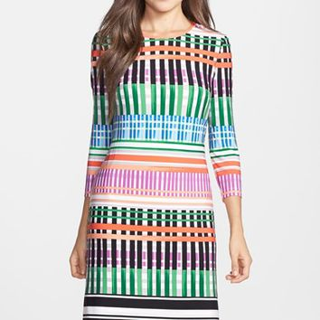 Women's Eliza J Print Jersey A-Line Dress