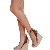 Sale- Natural Ocean Side Wedges