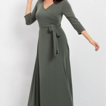 The Jonna Wrap Maxi - Available in 14 Colors