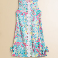 Lilly Pulitzer Kids - Girl's Little Lilly Abstract Floral Dress