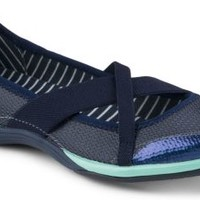Sperry Top-Sider Point Breeze X-Strap Skimmer Navy, Size 6.5M  Women's Shoes