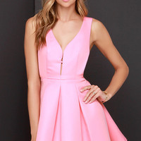 Hopes and Dreams Pink Skater Dress
