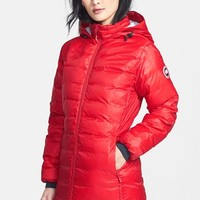 Women's Canada Goose 'Camp' Slim Fit Hooded Packable Down Jacket