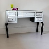 gretchen large mirrored dressing table by out there interiors | notonthehighstreet.com