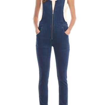 Free People Jax Denim One-Piece
