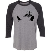 Jackie Woods Collection - Sea Otter Youth Raglan