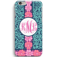 Summer Spring Flower Custom Inspired Lilly Pulitzer iPhone 6 Case, iPhone 5S Case