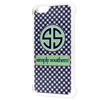 Simply Southern Gingham iPhone 6 Case - Navy