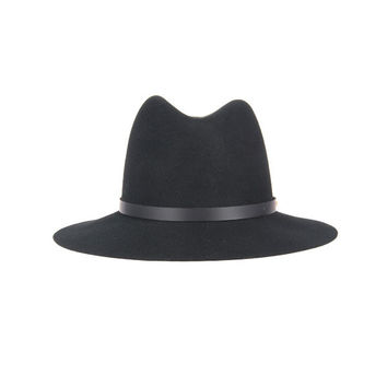 Rag & Bone - Floppy Brim Fedora in Black