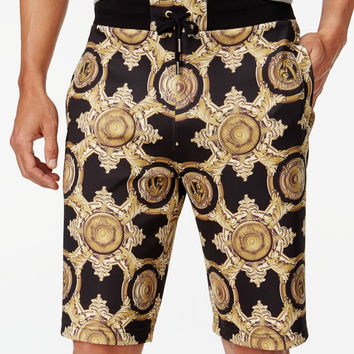 Versace Clockwork Neoprene Shorts
