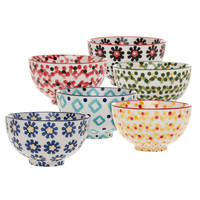 One Kings Lane - Mix It Up! - Asst of 6 Global Bowls, Multi