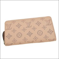 LOUIS VUITTON zippy wallet magnolia (pink) N61868 long lady mahina leather