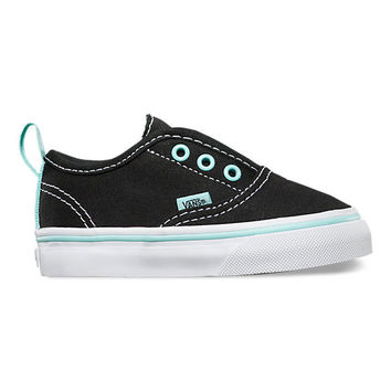 Vans T Authentic V(Pop)Black/Blue