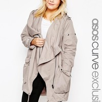ASOS Curve | ASOS CURVE Waterfall Parka at ASOS