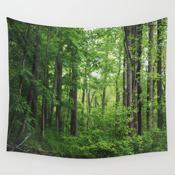 Forest Wall Tapestry by Kameron Elisabeth | Society6
