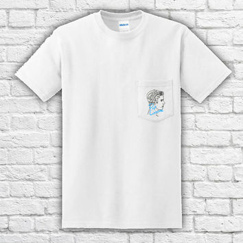 Justin Bieber Pop Culture Pocket T-Shirt
