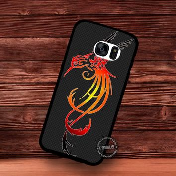 Bird Animal Tribal Art - Samsung Galaxy S7 S6 S5 Note 7 Cases & Covers
