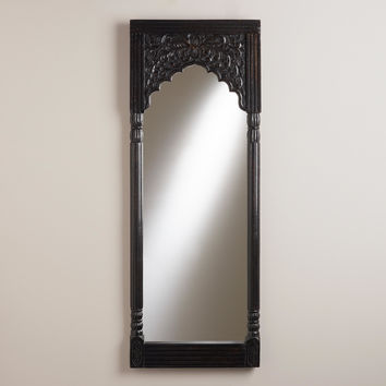Espresso Satara Mirror - World Market