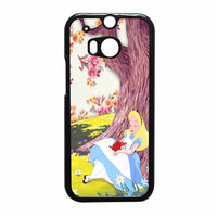 Alice In Wonderland Vintage HTC One M8 Case