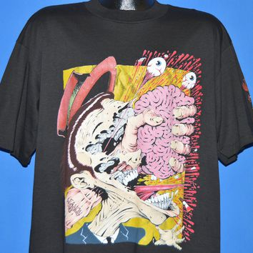90s Pushead Mind Scratch Series One Dave Leamon t-shirt Extra Large