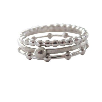 Set of Three Stacking Rings - Gwynnie Bee Exclusive