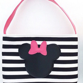 Minnie Mouse Toddler purse / little girl purse / toddler tote / pink