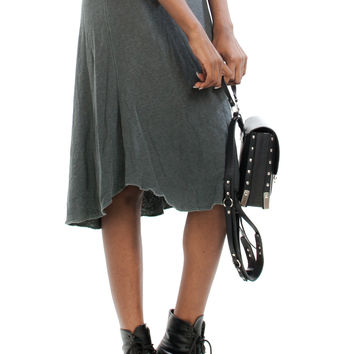 Not-Quite-Vintage Y2K James Perse T-Shirt Maxi Skirt - One Size Fits Many