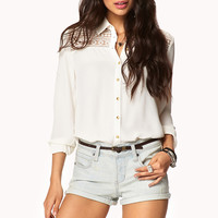 Everyday Denim Shorts w/ Belt