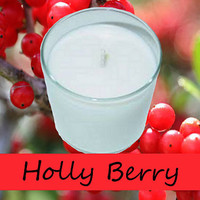Holly Berry Scented Candle in Tumbler 13 oz
