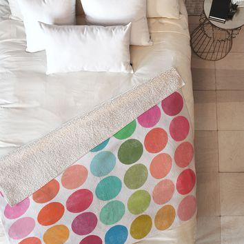 Garima Dhawan Colorplay 5 Fleece Throw Blanket