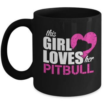 Pitbull Gifts-Pitbull Mug -Pitbull Lover Gifts-Pitbull Mom