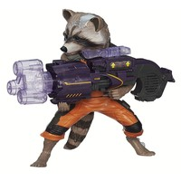 Marvel Guardians of the Galaxy Big Blastin' Rocket Raccoon Figure by Hasbro