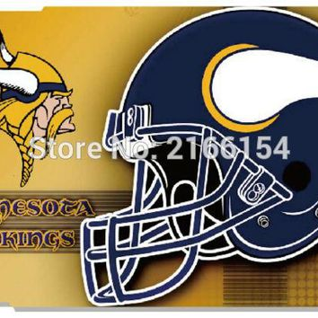 Minnesota Vikings cover For iphone 5S SE 5C 6 6S 7 Plus Touch 5 6 For Samsung Galaxy S3 S4 S5 Mini S6 S7 Edge Note 3 4 5 C5 Case