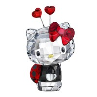 Swarovski Color Crystal Figurine HELLO KITTY LADYBUG #1180910