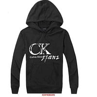 Calvin Klein Woman Men Hooded Top Sweater Hoodie Sweatshirt