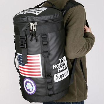 Supreme & The north face Backpack Travel Bag Large