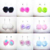 PURRFECT FLUFFY EARRINGS