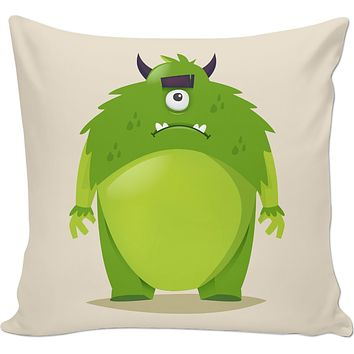 ROCP Green Monster Couch Pillow
