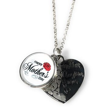 Snap Charm Mother's Day Pendant Mother Daughter Forever and Snap Fits Standard Size Ginger Snaps