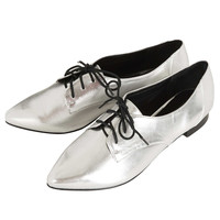 MANCE Pointed Lace Up Shoes - New In This Week - New In - Topshop USA